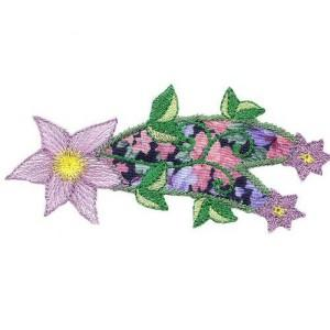 Colorful Starry Flowers