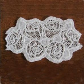 Lace Roses Doily Set