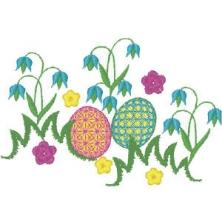 Table Runner Bunny for Easter