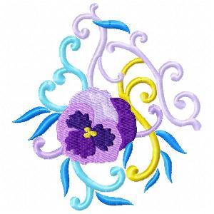 Violet Florals