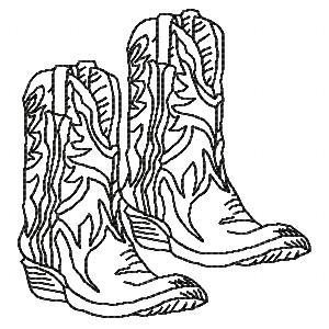 Howdy Cowboy BW
