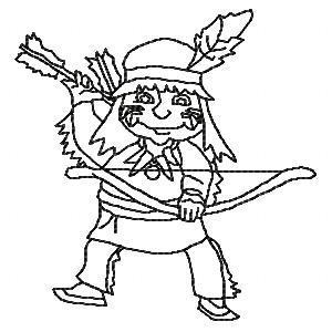 Indian Territory BW