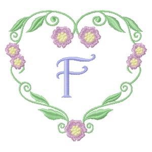 Floral Heart Monogram-8