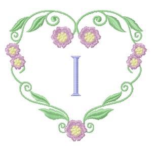 Floral Heart Monogram-11