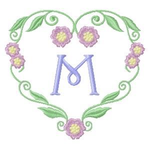 Floral Heart Monogram-15