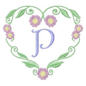 Floral Heart Monogram-18