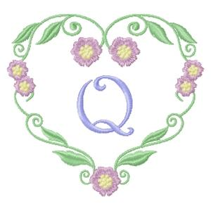 Floral Heart Monogram-19