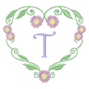 Floral Heart Monogram-22