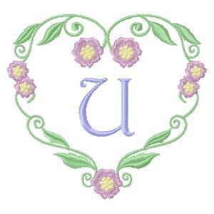 Floral Heart Monogram-23