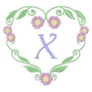 Floral Heart Monogram-26