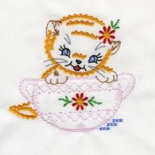 Playful Vintage Kittens