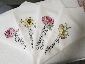 Custom Flower Message