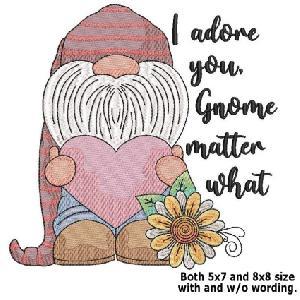 I Adore You Gnome