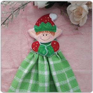 ITH Christmas Towel Toppers