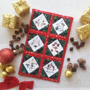 ITH Christmas Night Mini Quilt