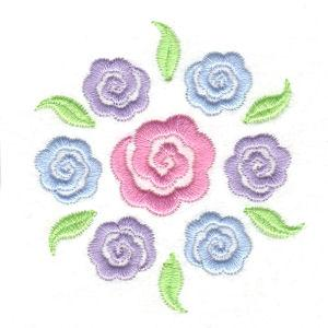 Stencil Flowers-5