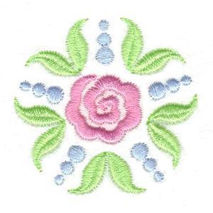 Stencil Flowers-6