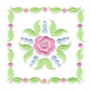 Stencil Flowers-10