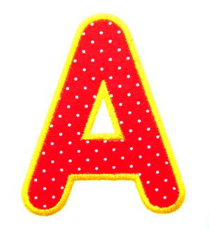Kindergarten Applique Alphabet