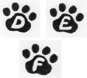Cat Paw Trio  DEF-3