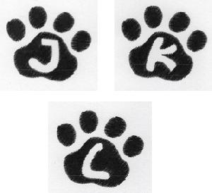 Cat Paw Trio JKL-3