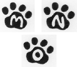 Cat Paw Trio MNO-3
