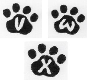Cat Paw Trio VWX-3