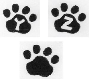 Cat Paw Trio YZ Blank-3
