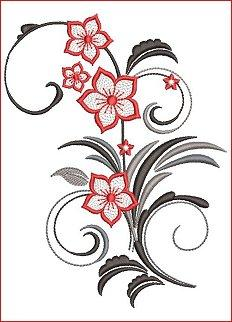 Flamenco Florals Set 1