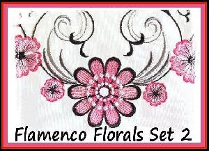 Flamenco Florals Set 2