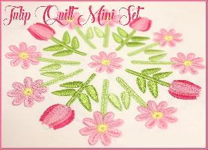 Tulip Quilt Mini Set