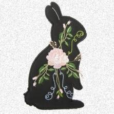 Silhouette Floral Animals