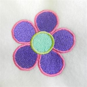 Contemporary Applique and Flowers