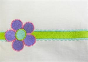 Contemporary Applique and Flowers