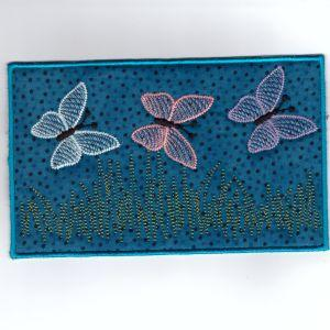 ITH Butterfly Pencil Case