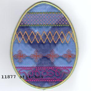 ITH Easter Egg Mug Rugs
