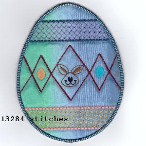 ITH Easter Egg Mug Rugs