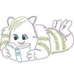 Zig Zag Reading Monsters