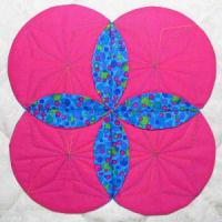 Cathedral Window Quilt Blocks 1