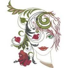 Fantasy Floral Women
