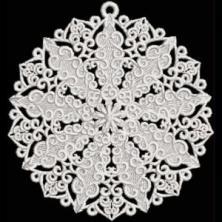 Lace Ornaments FSL