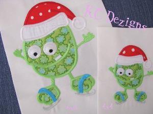 Christmas Monster 06