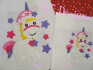 Christmas Unicorn 01