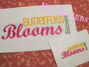Butterflies Among Blooms
