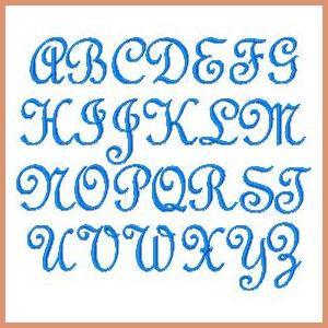 Crazy Quilt Monogram