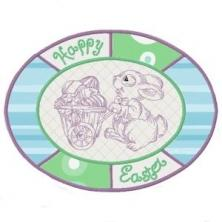 Easter Placemat ITH