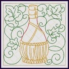Wine Coasters - In-the-hoop