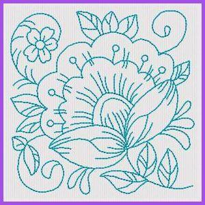 RW Floral Blocks