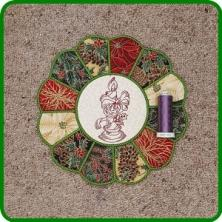 In The Hoop Xmas Placemat 2