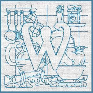 Kitchen Alphabet